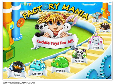 Factory Cover دانلود بازی Factory Mania: Cuddle Toys for All برای PC