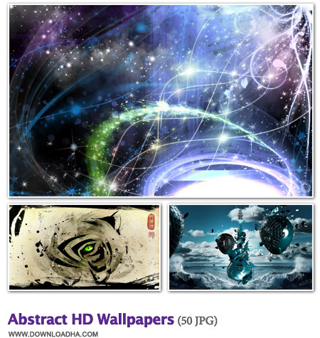 WallAB دانلود مجموعه 50 والپیپر زیبا و گرافیکی Abstract HD Wallpapers