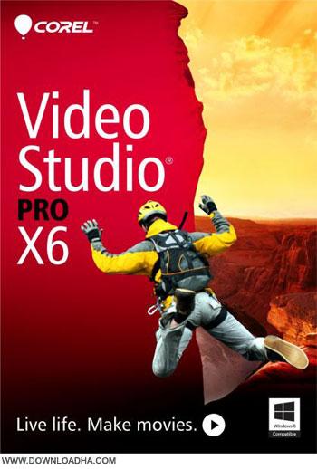 نرم افزار ویرایش حرفه ای ویدیوها Corel VideoStudio Pro X6