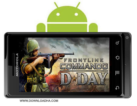 FRONTLINE COMMANDO D DAY v1.0.0 دانلود بازی FRONTLINE COMMANDO: D DAY v1.0.0   اندروید
