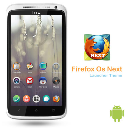 Firefox Os Next Launcher Theme v1.0 لانچر Firefox Os Next Launcher Theme v1.0   اندروید