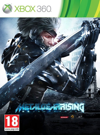 MGR cover دانلود بازی Metal Gear Rising: Revengeance برای XBOX360