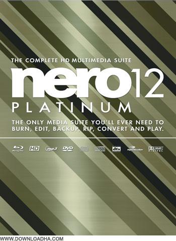Nero 12 Multimedia Suite Platinium v12.0.03500 محبوب ترین نرم افزار رایت دیسک ها با نام Nero 12 Multimedia Suite Platinium v12.0.03500