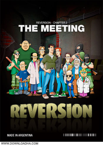 Reversion The meeting cover دانلود بازی Reversion   The Meeting برای PC