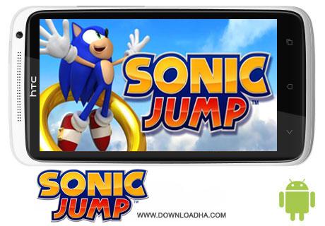 Sonic Jump v1.4.b دانلود بازی Sonic Jump v1.4.b   اندروید