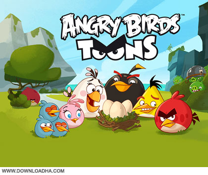 angry birds toons cover دانلود فصل اول انیمیشن Angry Birds Toons 2013