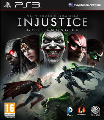 injustice gods among us ps3 cover small دانلود بازی Injustice: Gods Among Us برای PS3
