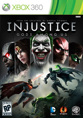 injustice gods among us screenshots cover small دانلود بازی Injustice: Gods Among Us برای XBOX360