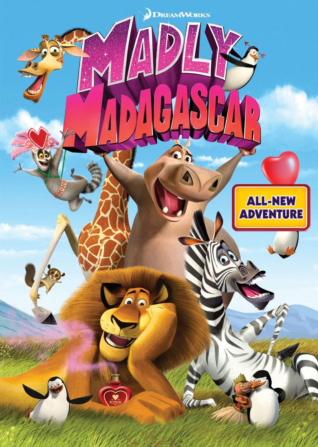دانلود کارتون های کمدی دانلود انیمیشن Madly Madagascar 2013