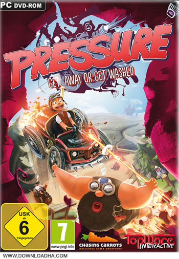 pressure game cover   Pressure  PC