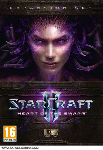starcraft 2 heart of the swarm cover small دانلود بازی StarCraft II:Heart of the Swarm برای PC