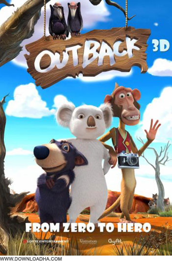the outback cover دانلود دوبله فارسی انیمیشن کوالا   The Outback 2012