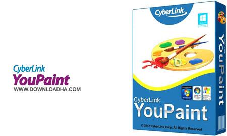 CyberLink YouPaint تقاشی حرفه ای و سرگرم کننده CyberLink YouPaint 1.5.0.4713
