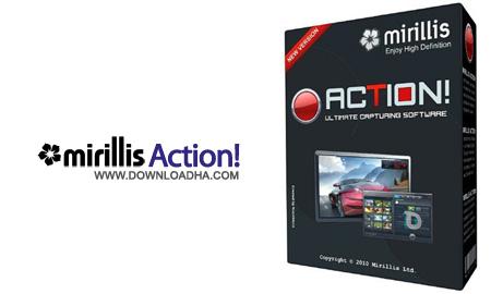 Mirillis Action ضبط ویدیو HD و فیلم آموزشی از محیط ویندوز Mirillis Action! 1.16.0