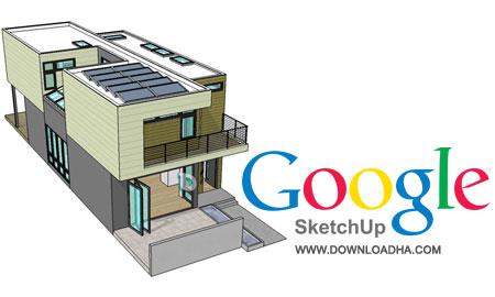 Google SketchUp طراحی آسان مدل های سه بعدی Google SketchUp 8.0.16846