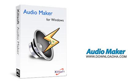 x audio maker  ابزارهای لازم جهت کار با فایل های صوتی Xilisoft Audio Maker v6.4.0