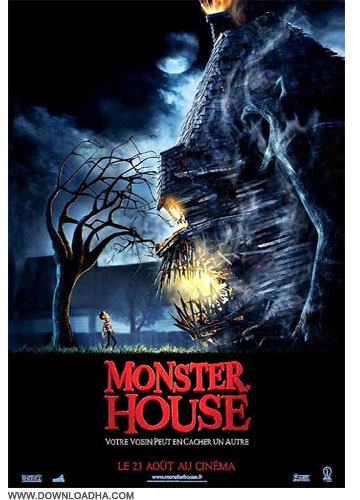 monster house دانلود دوبله فارسی انیمیشن خانه هیولا Monster House 2006