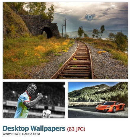 Desktop Wallpapers Collection 2 مجموعه 63 والپیپر متنوع برای دسکتاپ Desktop Wallpapers