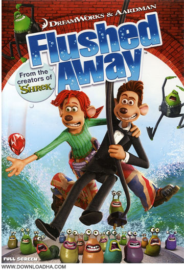 Flushed.Away دانلود دوبله فارسی انیمیشن برآب رفته Flushed Away 2006