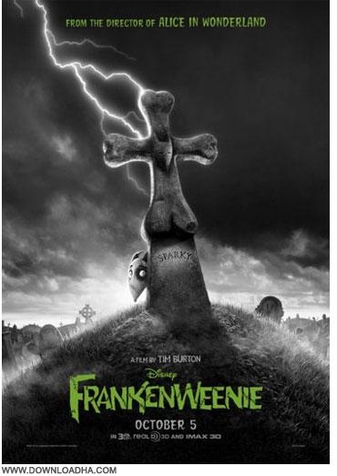 Frankenweenie دانلود انیمیشن فرنکنوینی Frankenweenie 2012