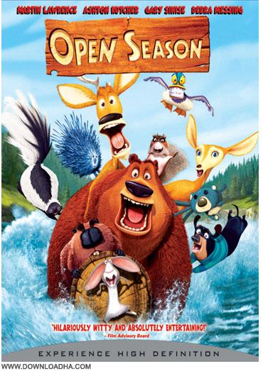 Open Season دانلود دوبله فارسی انیمیشن فصل شکار Open Season 2006