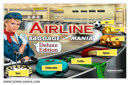 Airline Baggage Mania Deluxe دانلود بازی کم حجم و مدیریتی Airline Baggage Mania Deluxe