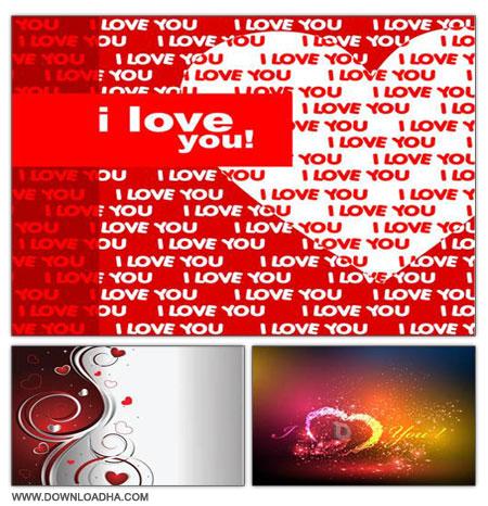 Love Backgrounds مجموعه بک گراندهای عاشقانه Love Backgrounds
