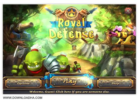 Royal Defense دانلود بازی مدیریتی و کم حجم Royal Defense