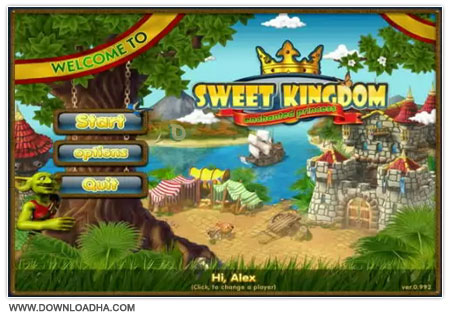 Sweet Kingdom Enchanted Princess بازی کم حجم و سرگرم کننده Sweet Kingdom Enchanted Princess