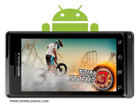 Trial Xtreme 3 بازی سرگرم کننده موتورسواری Trial Xtreme 3 v4.5 Full   آندروید