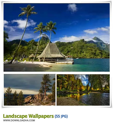 Wallpapers   Beautiful Landscape مجموعه 55 والپیپر با موضوع طبیعت Landscapes Wallpapers