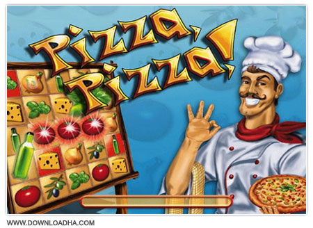 Pizza Pizza دانلود بازی سرگرم کننده و کم حجم Pizza, Pizza