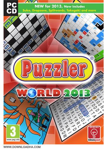 Puzzler World 2013 مجموعه بازی های سرگرم کننده پازل Puzzler World 2013