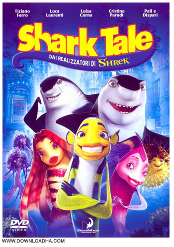 shark tale دانلود دوبله فارسی انیمیشن داستان کوسه Shark Tale 2004