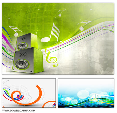 Backgrounds Vector S3 مجموعه وکتورهای رنگارنگ پس زمینه Backgrounds Vector