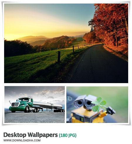Desktop Wallpapers S18 مجموعه 180 والپیپر زیبا برای دسکتاپ Desktop Wallpapers