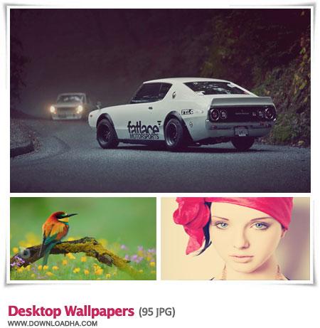Desktop Wallpapers S52 مجموعه 95 والپیپر متنوع برای دسکتاپ Desktop Wallpapers