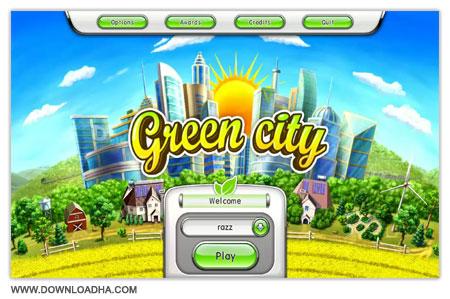 Green City دانلود بازی مدیریتی شهر سبز Green City Final