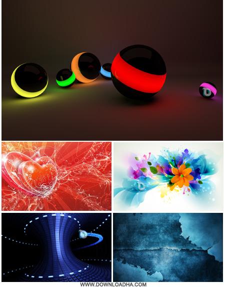 abstract wallpapers والپیپرهای گرافیکی